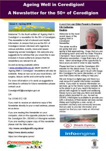 Ageing Well in Ceredigion! - Issue 4